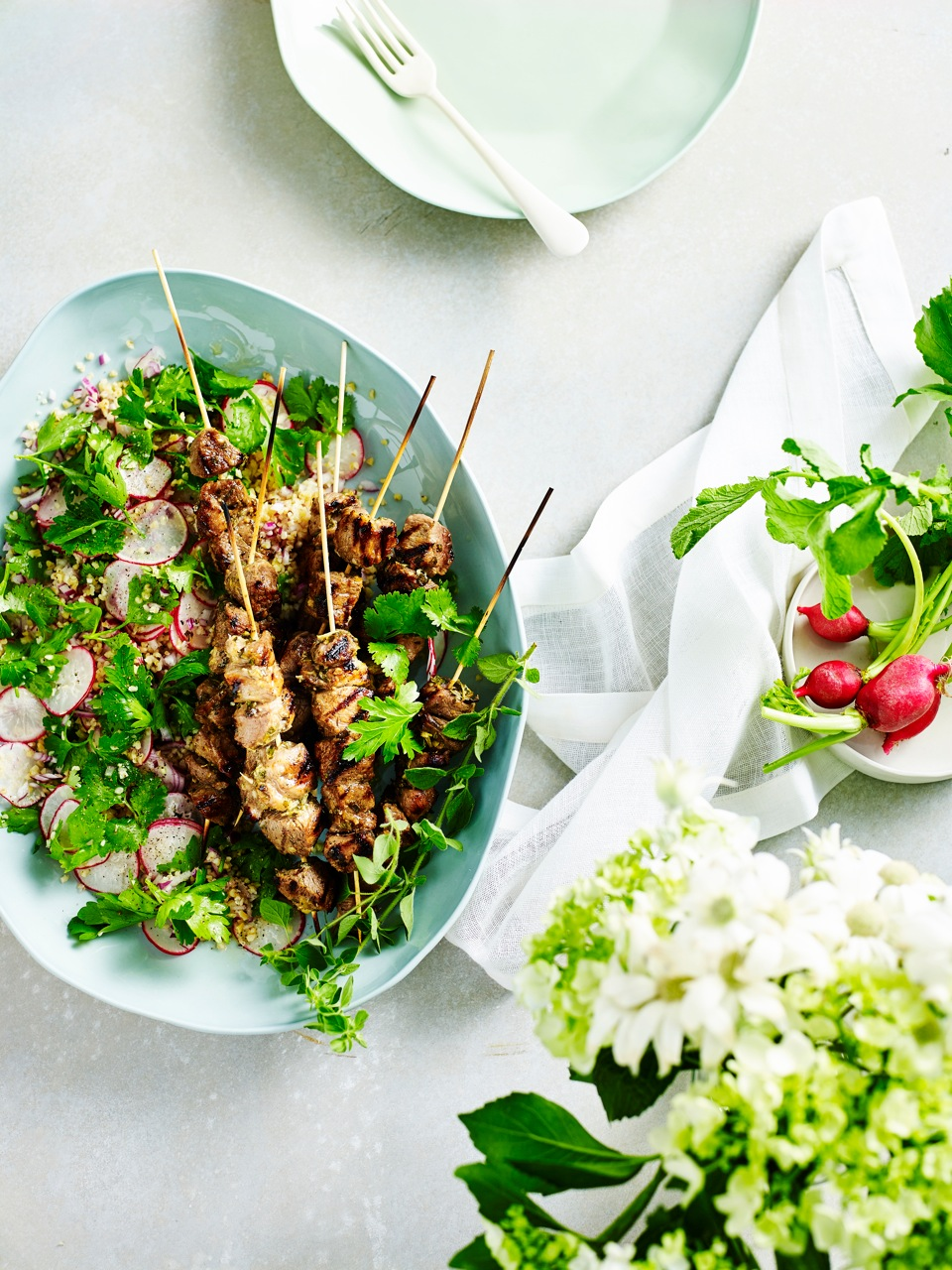C14B1462 Lamb Skewers with herb radish tabbouli 024