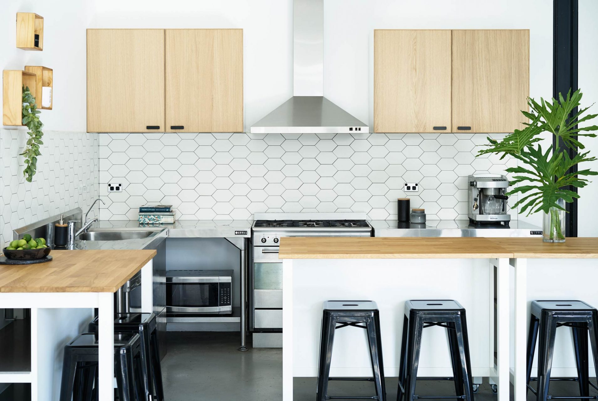 Industrial Scandinavian Kitchen Project