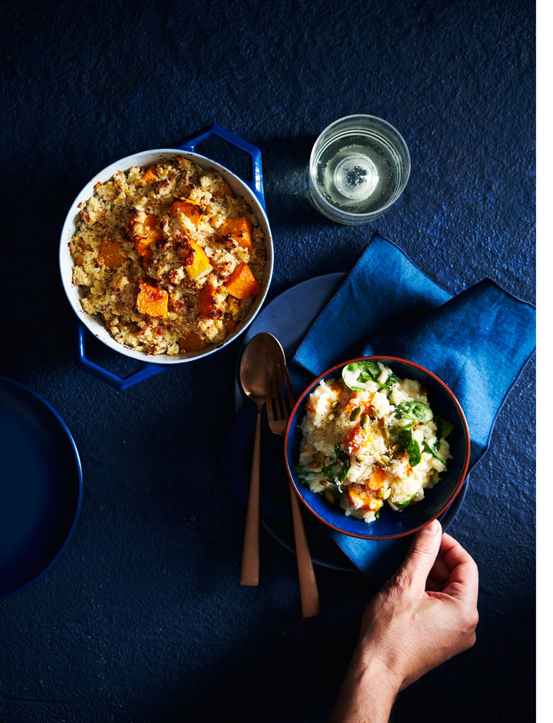 Pumpkin-and-spinach-risotto-roast-pumpkin-risotto-with-cauliflower,-parmesan-and-bacon-crumble-012
